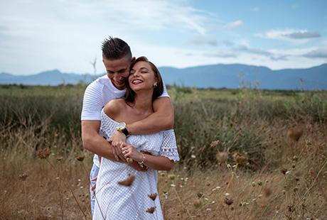 Photographie engagement mariage Perpignan 66